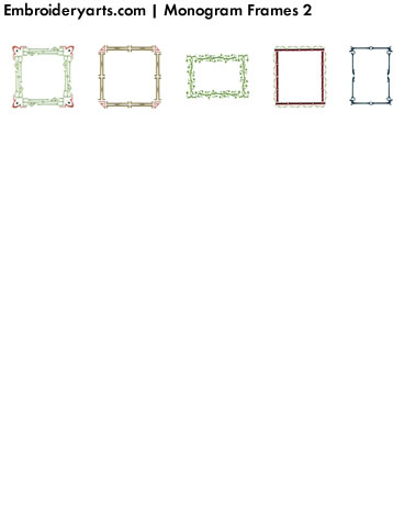 Frames Monogram Set 2