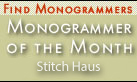 Monogrammer of the Month