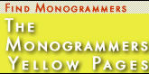 Monogrammers Yellow Pages