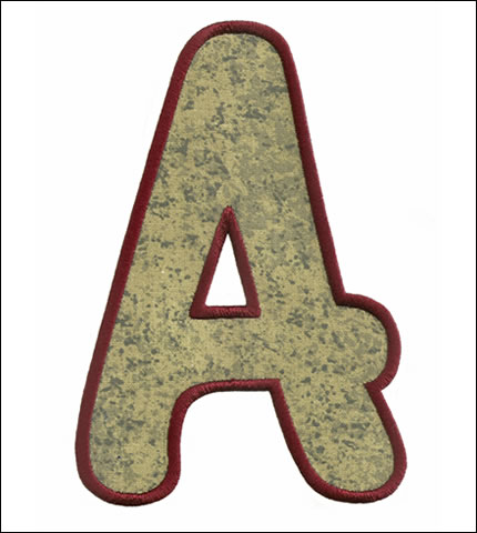 Applique XL Monogram Set 1