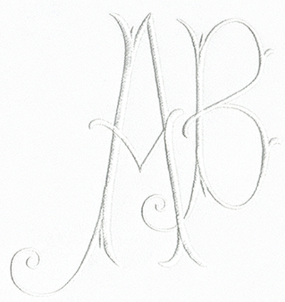 Arabesque XL Monogram Set 10