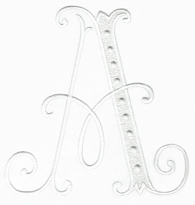 Arabesque XL Monogram Set 13