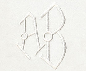 Art Deco Monogram Set 8