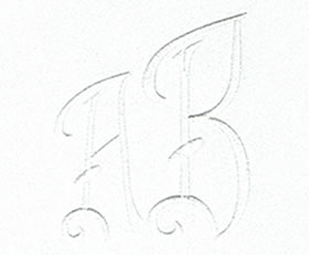 Art Deco Monogram Set 10