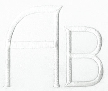 Art Deco Monogram Set 11