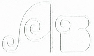 Art Deco Monogram Set 12