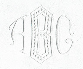 Baroque Monogram Set 4