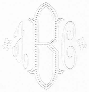 Baroque XL Monogram Set 3