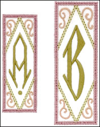 Bookplate Monogram Set