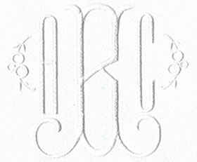 Craftsman Monogram Set 1