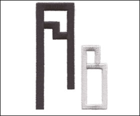 Moderne Monogram Set 7