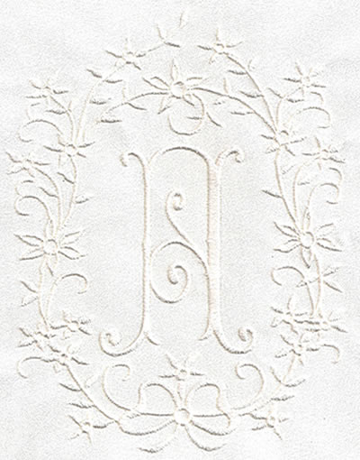Romanesque XL Monogram Set 2